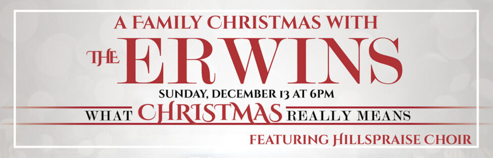 A Family Christmas with the Erwins