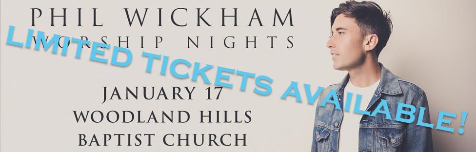 Phil Wickham Worship Nights